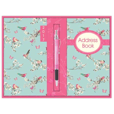 Beautiful Birds Diary & Address Book