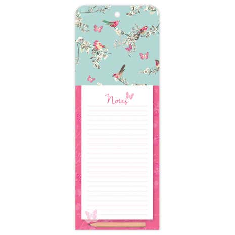 Beautiful Birds Magnetic Notepad