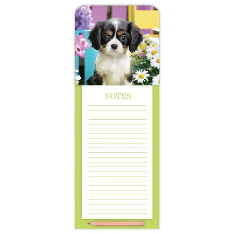 Spaniel Magnetic Notepad