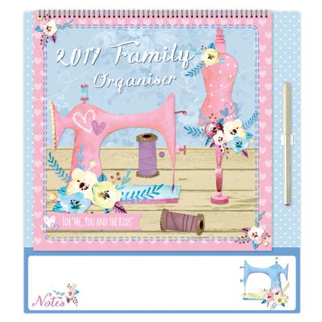 2017 Sewing Family Organiser
