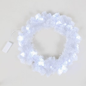 Winter White Garland