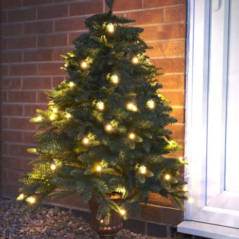 4ft Potted LED Christmas Tree