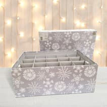 Frosted Pines Ornament Box