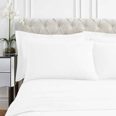 Dorma Supreme Brushed Cotton Cuffed Pillowcase