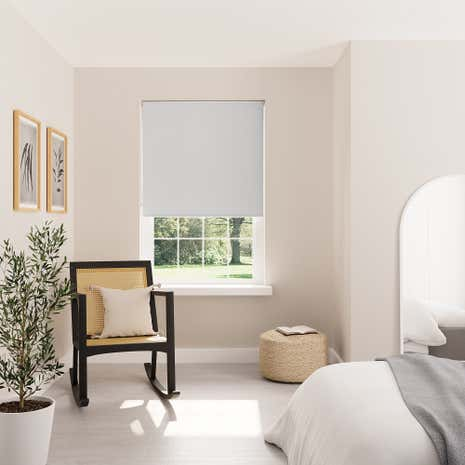 Grey Blackout Roller Blind
