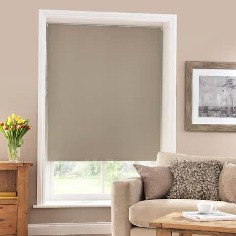 Mocha Blackout Roller Blind