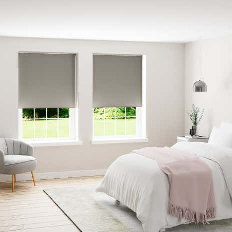 Gray Room What Color Blinds