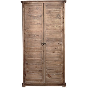 Harby Pine Double Wardrobe