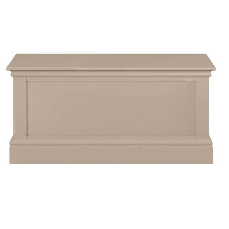 Blakely Taupe Blanket Box