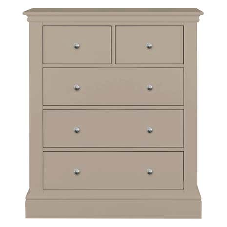 Blakely Taupe 5 Drawer Chest