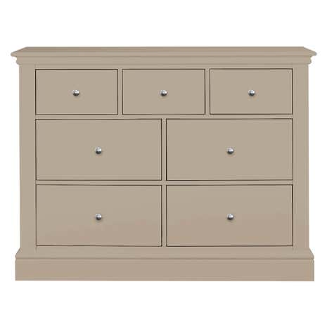 Blakely Taupe 7 Drawer Chest