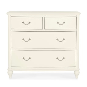 Athena Ivory 4 Drawer Chest