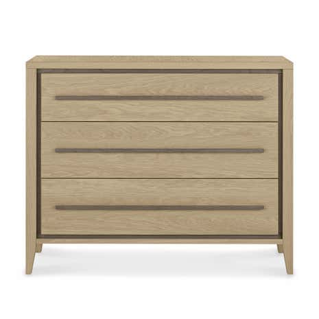 Mason Oak 3 Drawer Chest