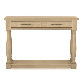 Savannah Oak Console Table