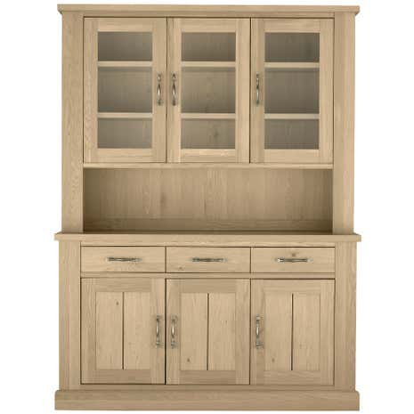Savannah Oak Glazed Dresser