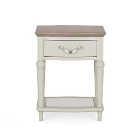 Sophia Grey Lamp Table