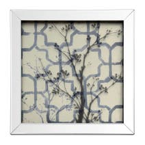 Grey Pretty Vintage Bird Photo Frame