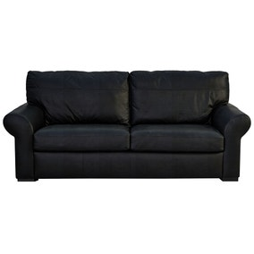 Finchley Madras Black 3 Seater Sofa