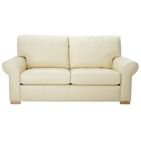 Finchley Madras Cream 3 Seater Sofa