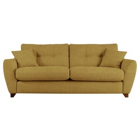 Gosport Linso Lime 3 Seater Sofa