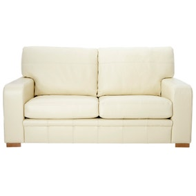Hendon Madras Cream 3 Seater Sofa