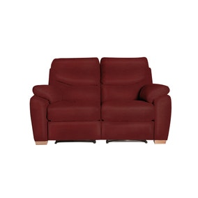 Savannah Cast Cherry 2 Seater Recliner Sofa