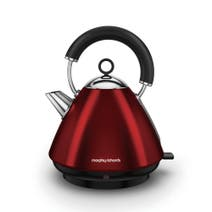 Morphy Richards Accents 102029 Traditional Red Kettle