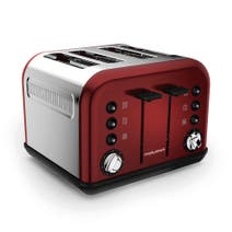 Morphy Richards Accents 242030 4 Slice Red Toaster