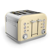Morphy Richards Accents 242033 4 Slice Cream Toaster