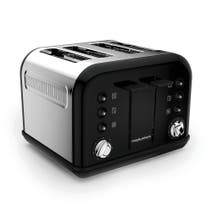 Morphy Richards Accents 242031 4 Slice Black Toaster