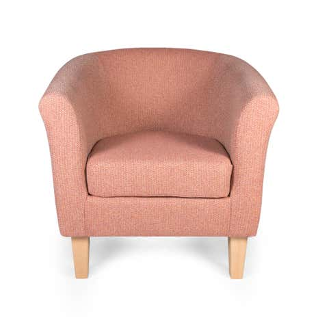 Deluxe Avala Pink Tub Chair