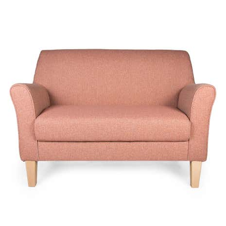 Avala Pink Lucielle 2 Seater Chair