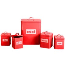 Spectrum 5 Piece Kitchen Storage Set