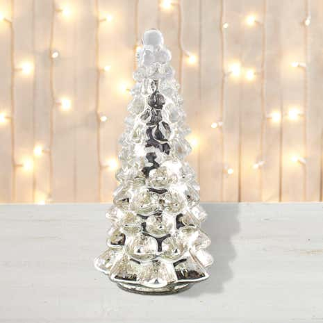 Mercury Glass Tree Room Decoration