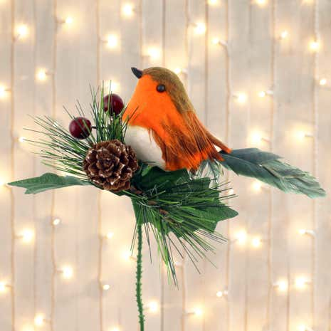 Robin Pick Decoration