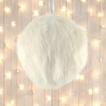 Faux Fur Bauble