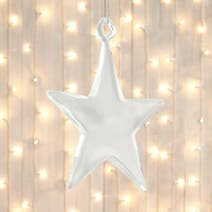 Acrylic Star Tree Decoration