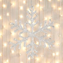 Acrylic Snowflake Tree Decoration