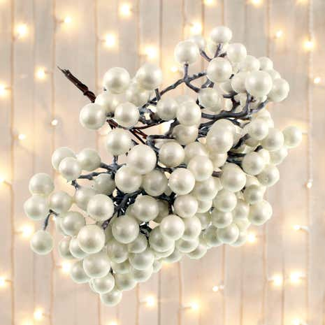 Frosted Berries Tree Decoration