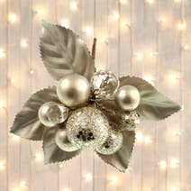 Pearl Flower Sprig Tree Decoration