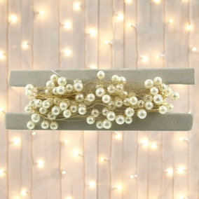 Pearl Bead Tree Garland