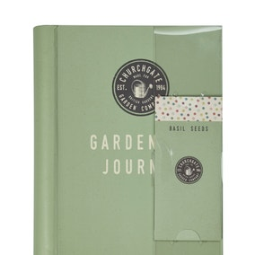 Gardeners Journal With Seeds