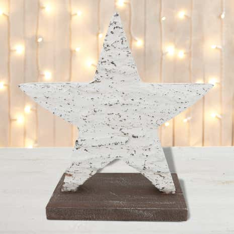 Wooden Star Room Decoration