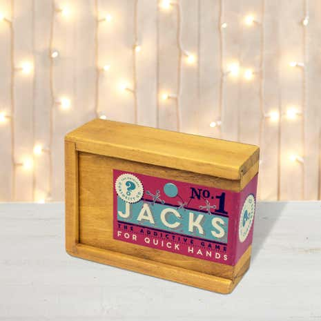 Professor Puzzle Jacks Wooden Box