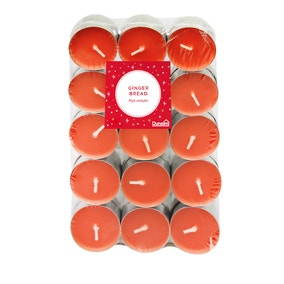 Pack of 30 Gingerbread Tealights