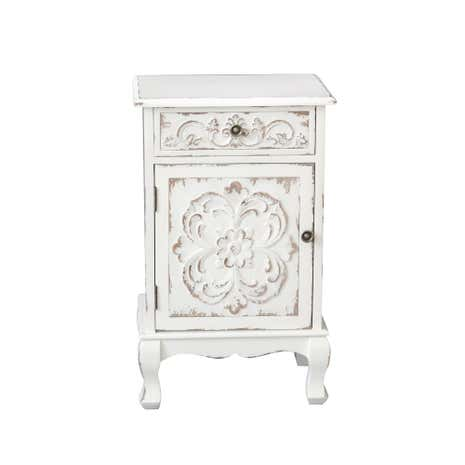 Ava White Lamp Table