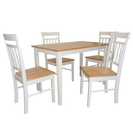 Josie Dining Table And 4 Chairs Set
