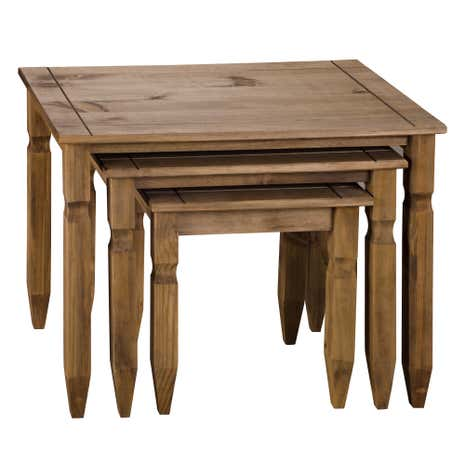 Peru Pine Nest of Tables