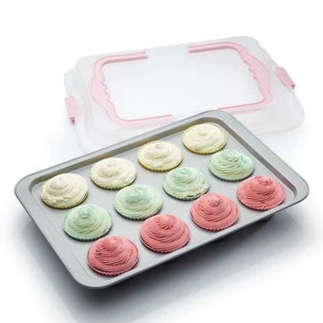 Bake and Carry Cupcake Tray