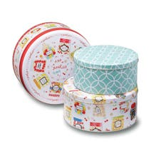 Sweet Treats Set of 3 Round Cake Tins